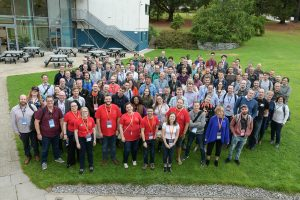 Large group photo from Tech Exeter Conference